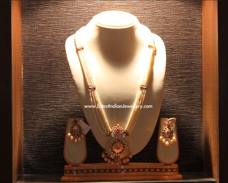 Hyderabad Pearls Haram Set