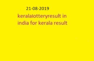 nirmal lottery sthree sakthi lottery result 2019-08-21