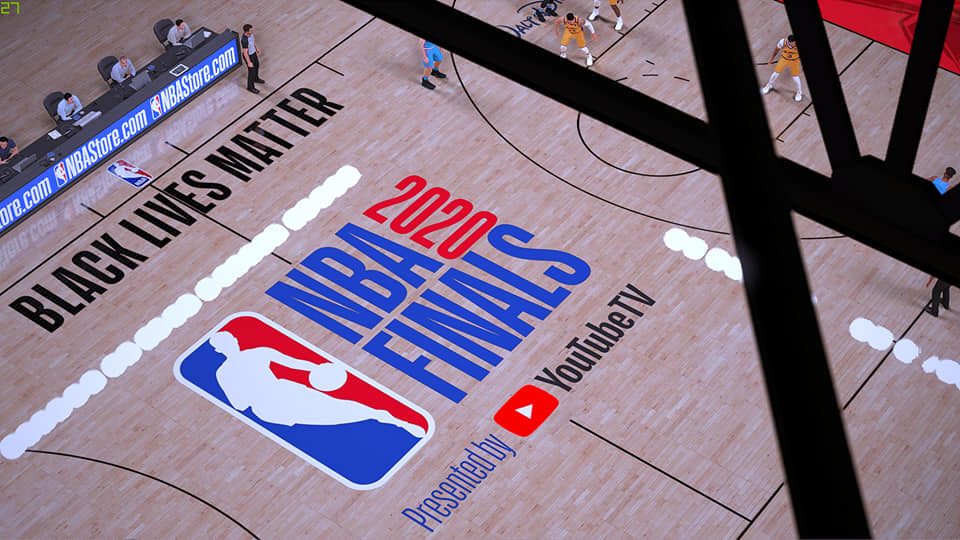 NBA FINALS 2020 BUBBLE COURT By AGP2K GAMING PH [FOR 2K21 ...