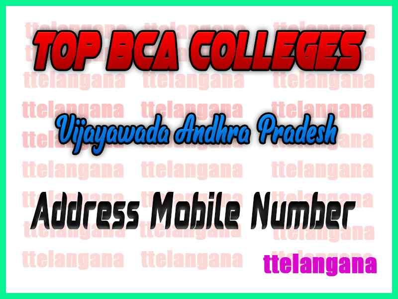 Top BCA Colleges in Vijayawada Andhra Pradesh