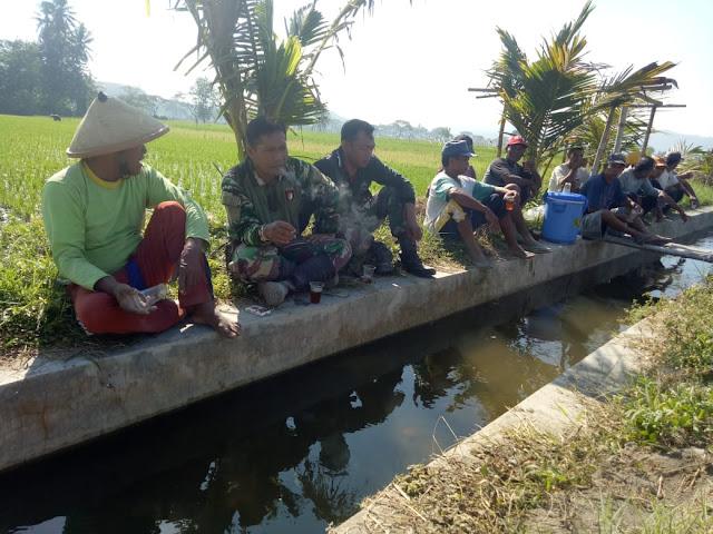 Keakraban TNI Dan Rakyat Terjalin Di TMMD Reguler 105 Tahun 2019 Kodim Klaten