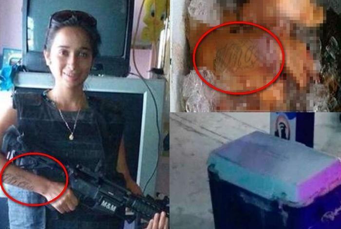 """Ella era """"La Flaca"""" la joven y atractiva niña sicaria del CDG que un error la dejo descuartizada y dentro de una hielera en Tamaulipas"""