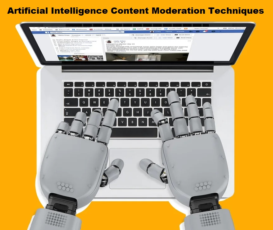 Artificial Intelligence Content Moderation