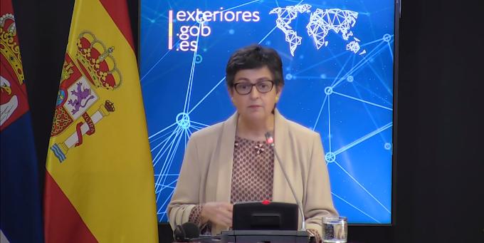 """وزير الخارجية الإسبانية  تؤكد أن إبراهيم غالي سيغادر إسبانيا فور إنتهاء فترة العلاج"""""""
