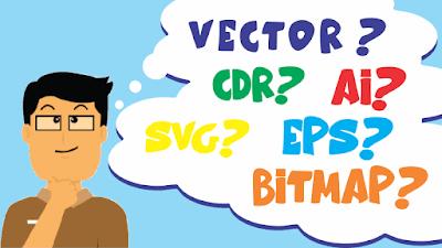 Pengertian Vector, Cdr, Ai, Svg, Eps dan Bitmap agus91