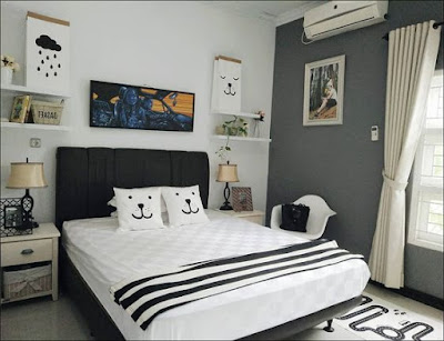 Dekor Kamar Tidur 3x3 yang Cantik dan Menarik