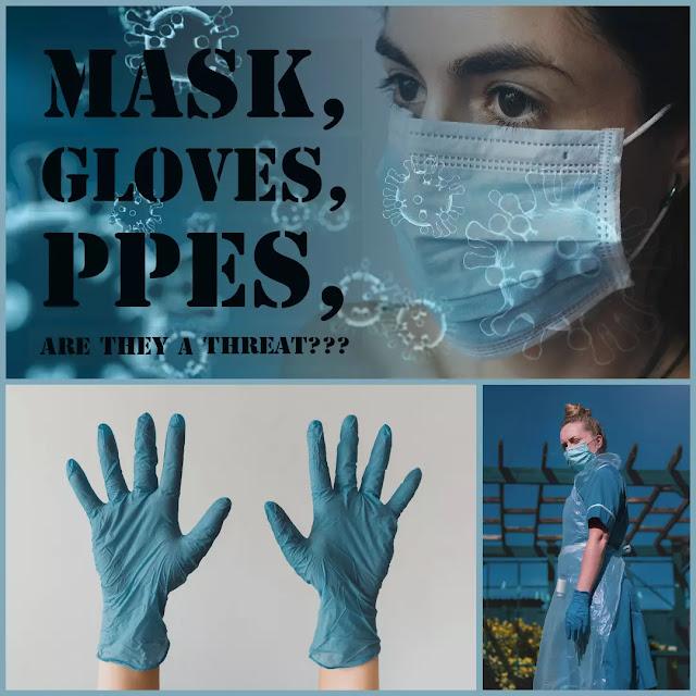 Mask, Gloves, PPEs