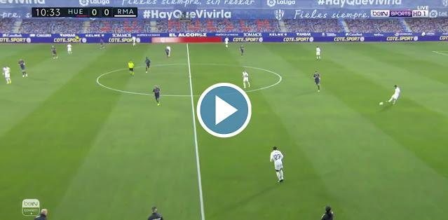 Huesca vs Real Madrid Live Score