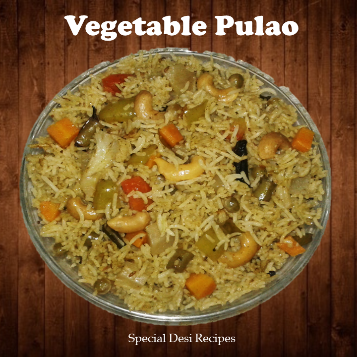 veg pulao specialdesirecipes
