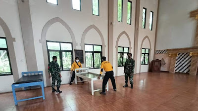 Tim Gugus Covid-19 Pituruh, Siapkan Tempat Isolasi Mandiri Tingkat Kecamatan
