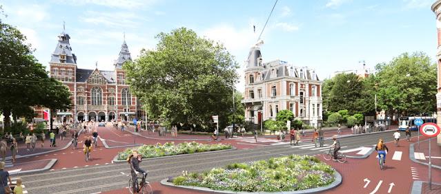مشاريع ضخمة لجعل العاصمة امستردام مدينة أكثر خضرة