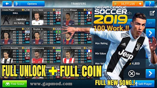 DLS 2019 Mod APK+OBB Full Coin and Full UNLOCK by Ramon Download for Android