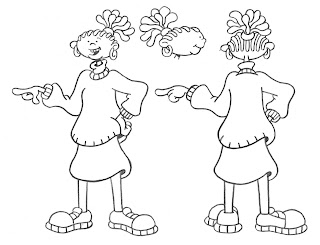 warburtonlabs: THE PEPPER ANN FINALE CHARACTER DESIGNS