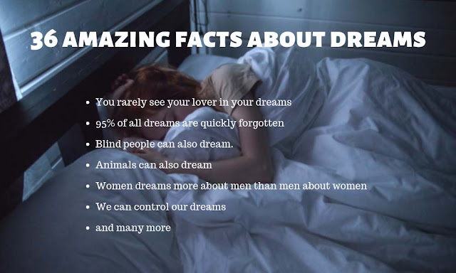 36 amazing and weird facts about dreams