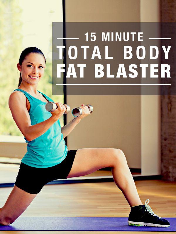 15-Minute Total Body Fat Blaster