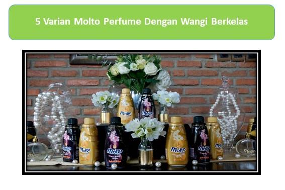5 Varian Molto Perfume Dengan Wangi Berkelas