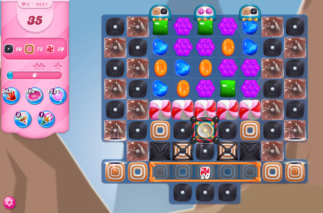 Candy Crush Saga level 9251