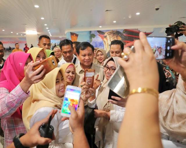 Tegas, Prabowo Diyakini Mampu Tuntaskan Persoalan Bangsa