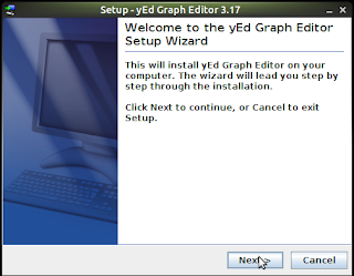 cara install yEd graph editor di linux