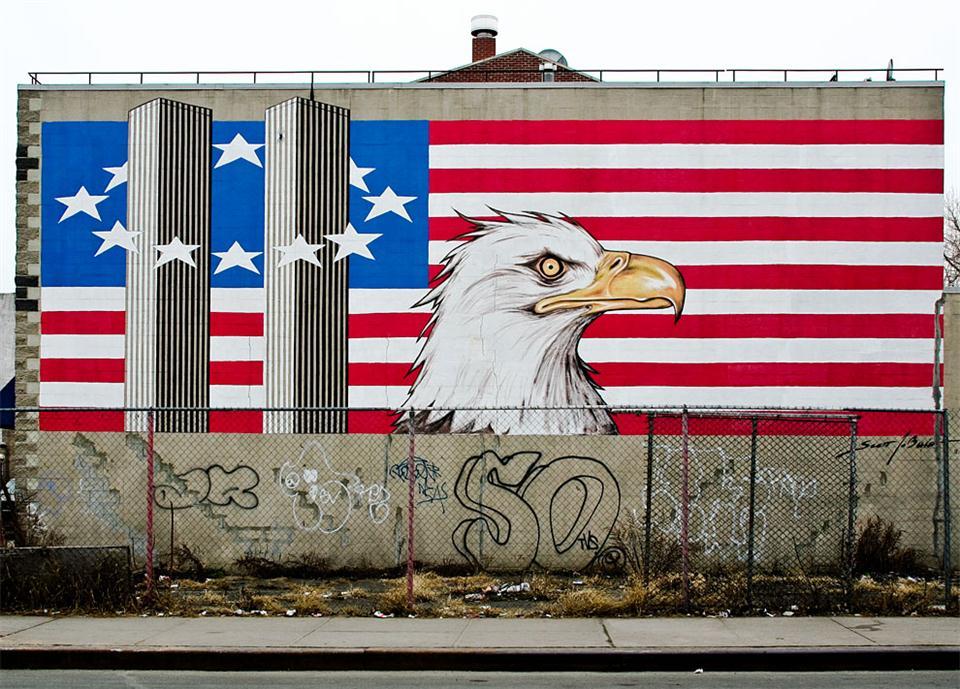american flag graffiti - photo #2