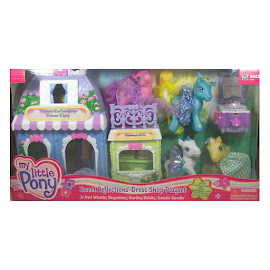 MLP Peri Winkle Playsets Sweet Reflections Dress Shop G3 Pony