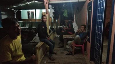 Warga Kelurahan Kangkung Ikut Mengungsi