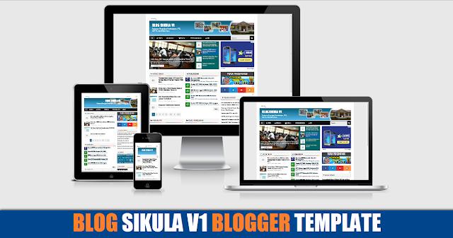 Blog Sikula V1 Responsive Blogger Template