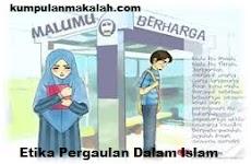 Etika Pergaulan Dalam Islam