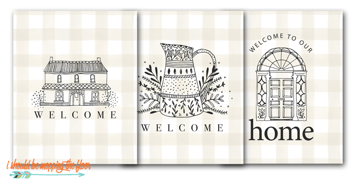 Welcome Printables