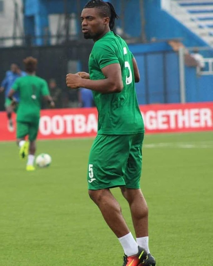 AFCON Qualifiers: Enyimba Defender Replaces Visa-Hitched Bryan Idowu
