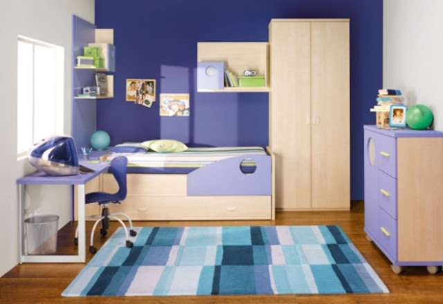 Desain Kamar Tidur Anak Laki Laki Modern