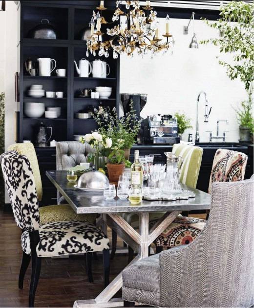 Mix Match Kitchen Chairs: Lisa Mende Design: How To Mix Chairs Around A Table