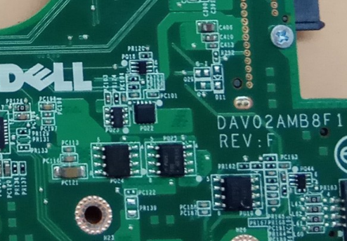 DAV02AMB8F1 REV F DELL 3450 Laptop Bios
