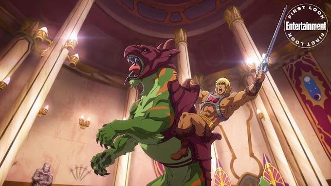 He-Man volta com nova animação!
