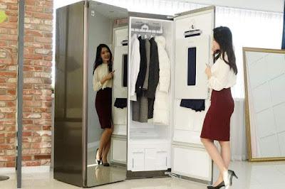 Máy giặt khô LG Styler ứng dụng công nghệ giặt bằng hơi nước hiện đại nhất thế giới