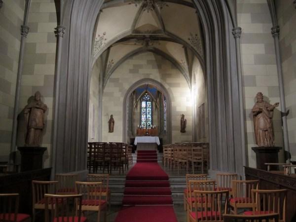 Capilla de San Miguel (Castillo Hohenzollern, Alemania)
