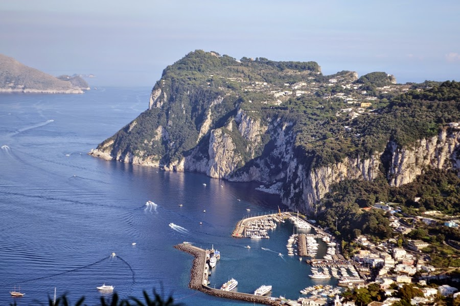 Views of the Capri Coast