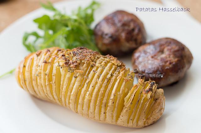 Patatas Hasselback / Eva en pruebas