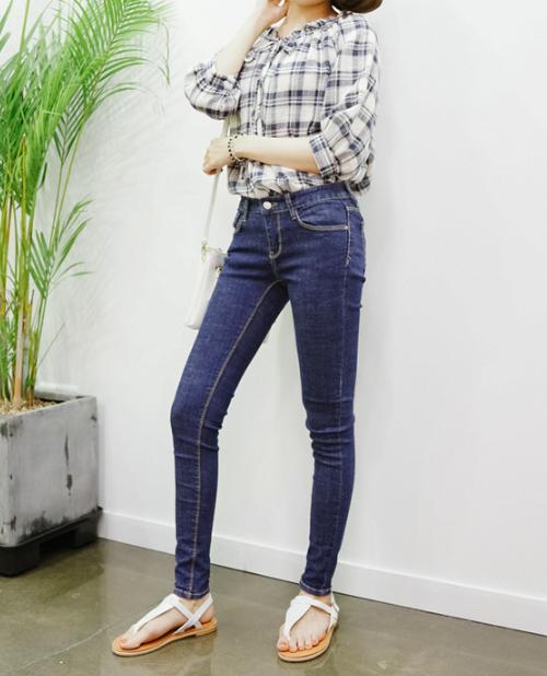 Classic Denim Skinny Jeans