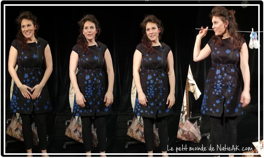 """l'art de la poésie avec Bérénice Benedetto dans  """" Va et vient """""""