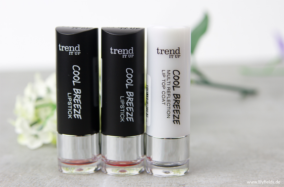 Cool Breeze - Lipstick und Cool Breeze - Muti Refelction Lip Top Coat