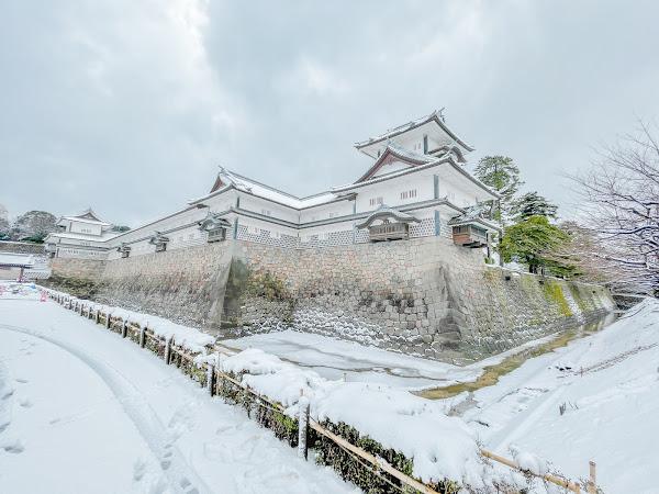 Kanazawa Castle, Nezumitamon Gate and Nezumitamon Bridge