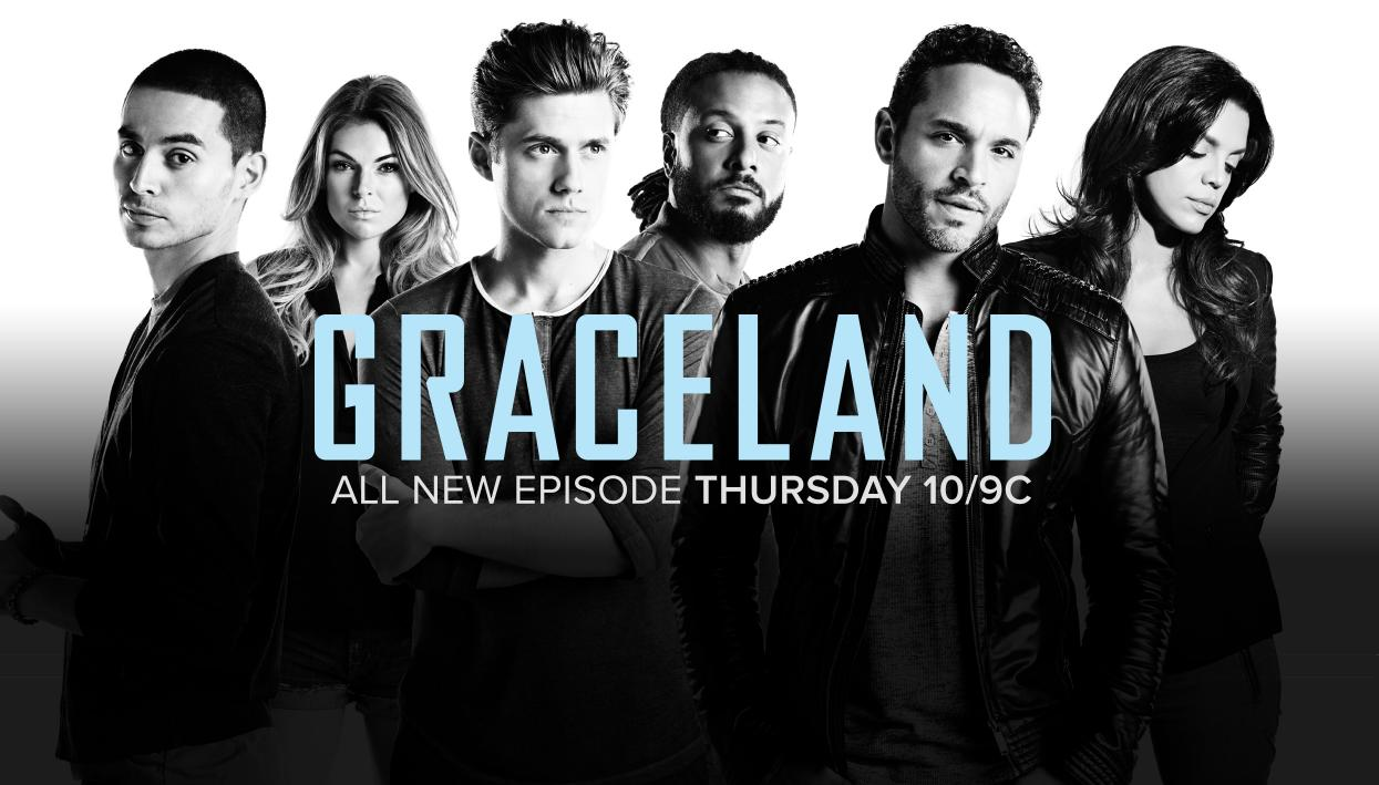 Graceland Season 2 sneak peek: Mike the hunted – SheKnows  |Graceland Tv Show