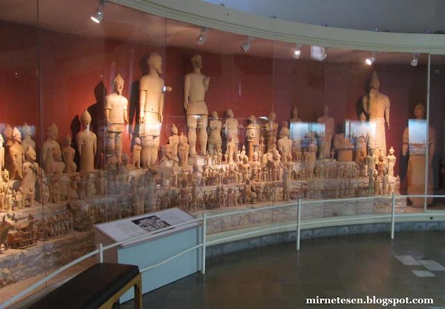 Археологический музей Кипра - терракотовые воины