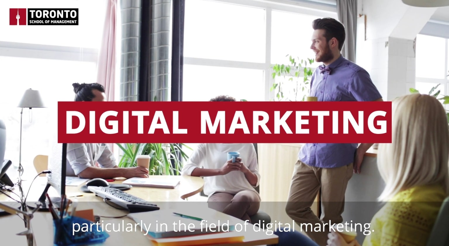 Digital marketing in Toronto, Canada