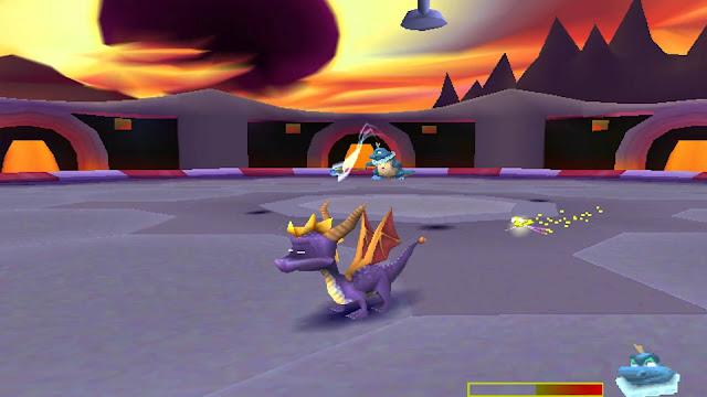 Spyro: El año del dragón - PSX - Captura 2