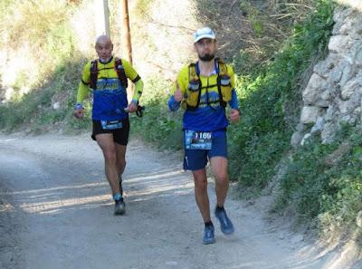 El talento de Mister Tori , crónica de Costa Blanca Trail 46 km.