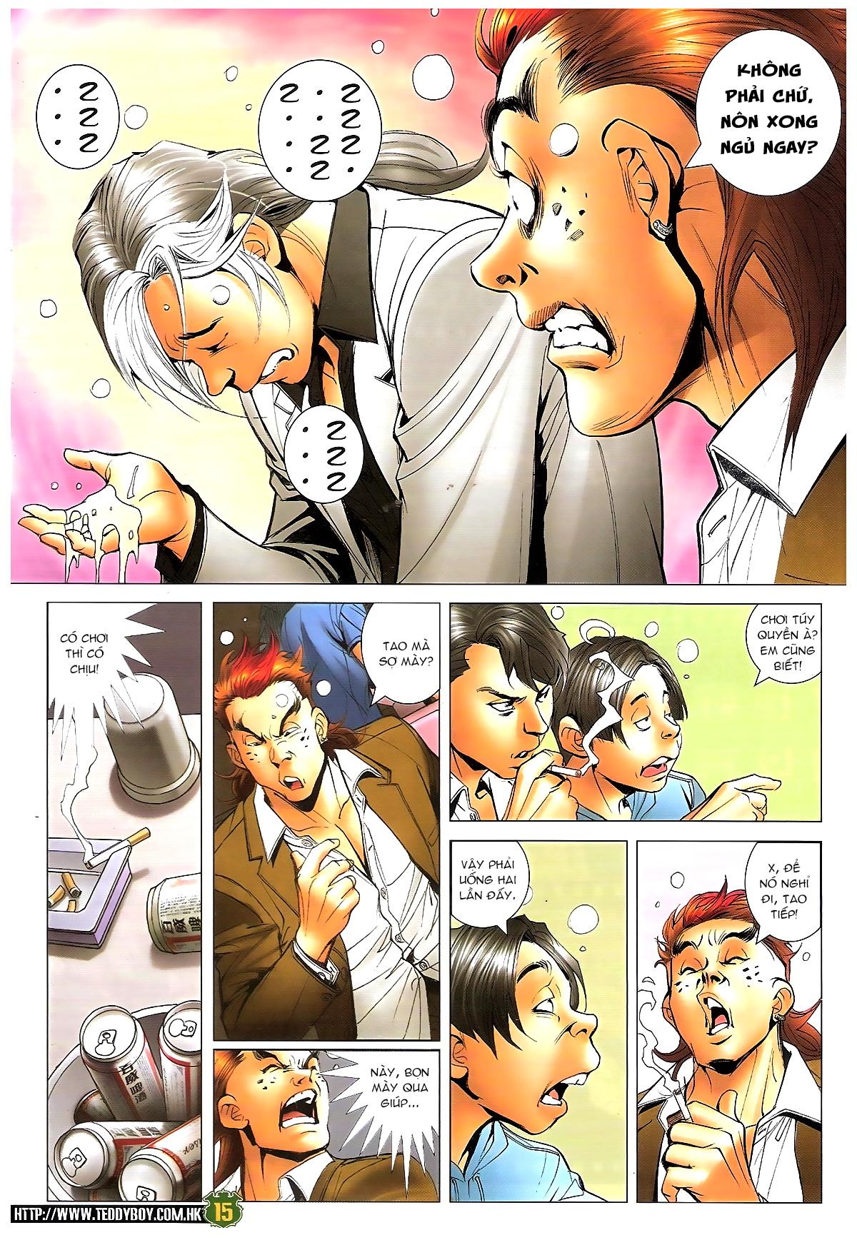 Người Trong Giang Hồ chapter 1646: đại hạn lâm đầu trang 14