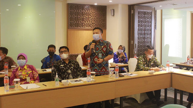 Ombudsman Lampung Selenggarakan Pendampingan Penilaian Kepatuhan Standar Pelayanan Publik