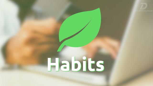 Conheça o app Habits, que contabiliza quantas teclas você pressionou no dia
